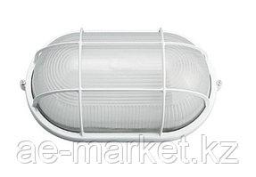 Светильник НПП 1202-100 бел/овал с реш. IP54