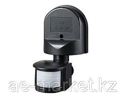 Датчик движения ДД 008 черный,до 1100 Вт,дальность 12 м IP44 IEK