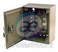 Коробка монтажная под 3 плинта с замком (170*140*75мм)  REXANT
