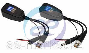 Приемо-передатчик  видео (BNC) + питание + DATA  по витой паре (8P8C)  (комплект 2 шт) Цена за штуку