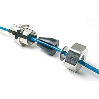 """Муфта зажимная для монтажа кабеля внутрь трубы (3/4"""" и 1"""") с резьбой"""