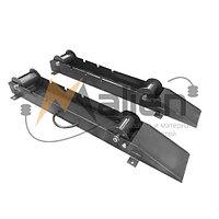 Ролики для размотки кабельных барабанов РКБ 10-1,0, от №6 до №10, г/п до 1000 кг МАЛИЕН (комплект 2 шт)