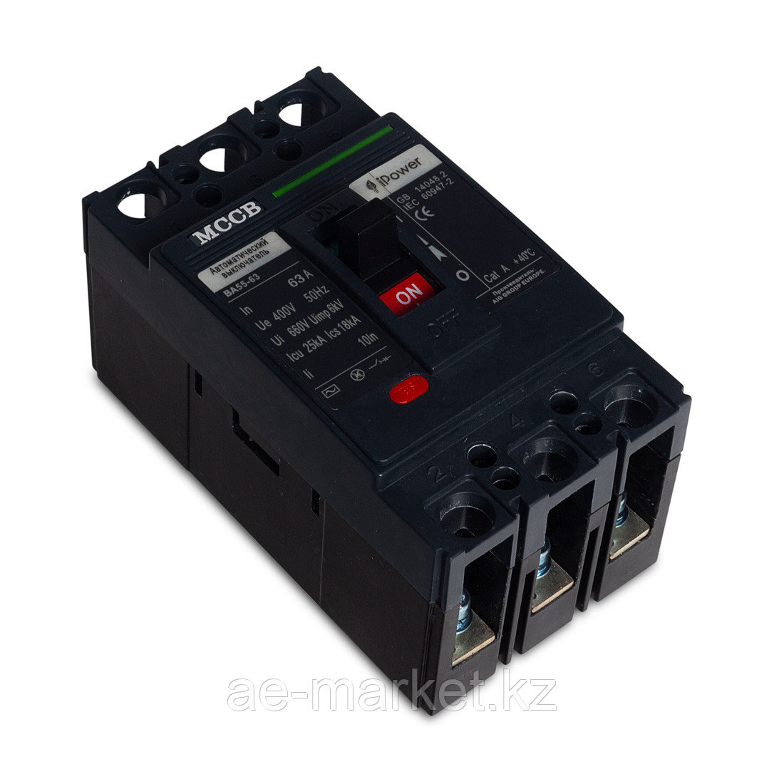 Автоматический выключатель iPower ВА55-63 3P 63A
