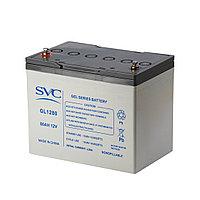 Аккумуляторная батарея SVC GL1280 12В 80 Ач (329*172*224), фото 1