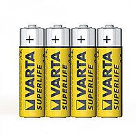 Батарейка VARTA Superlife Mignon 1.5V - R6P/AA 4 шт в пленке