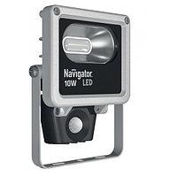 LED Прожектор 10w 4000K  Датчик IP65