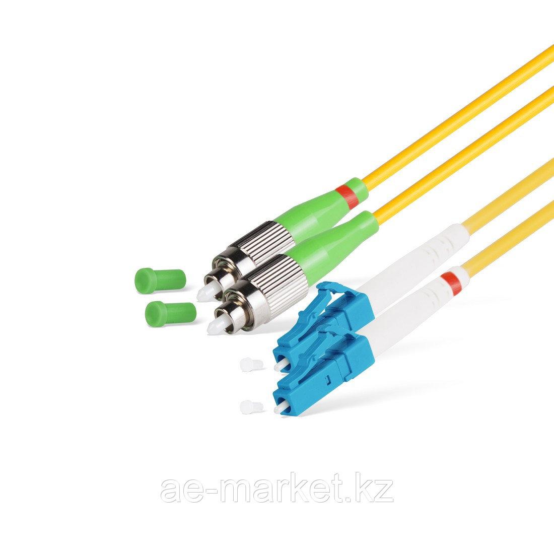 Патч Корд Оптоволоконный FC/APC-LC/UPC SM 9/125 Duplex 3.0мм 1 м