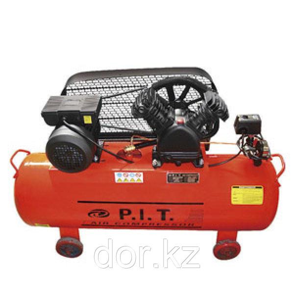 """P.I.T."" Компрессор 2-x цилиндр. 100 L 1,5 kW"