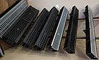 Лоток водоотводный  Ecoteck STANDART 100.95 h99 с решеткой пластиковой, кл.А15, фото 2