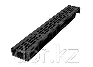 Лоток Ecoteck STANDART light 100.65 h69 с решеткой 100 чугунной, кл.С250