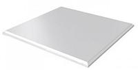 Белый матовый оцинковка (Кассетный потолок на видимой системе) без каркаса