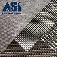 Сетка тканная металлическая 1х10х10мм ГОСТ 3826-82