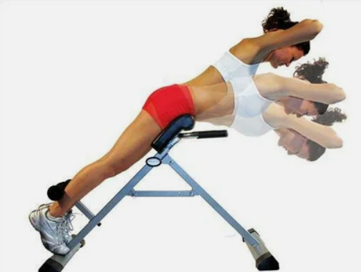 Скамья для мышц спины 120 кг Россия - фото 2