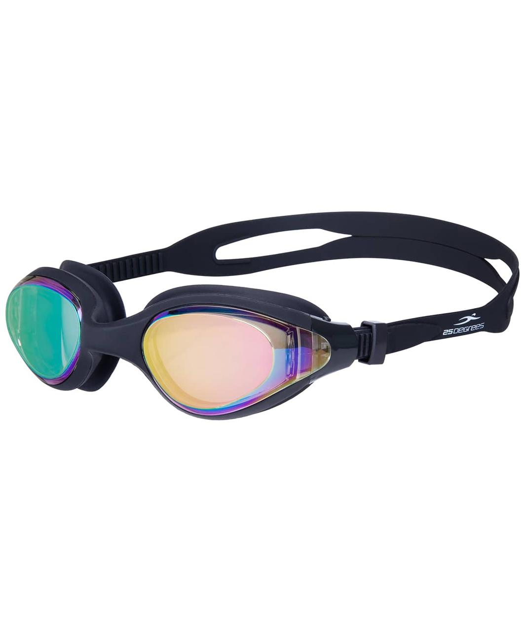 Очки для плавания Prive Mirrored Black 25Degrees