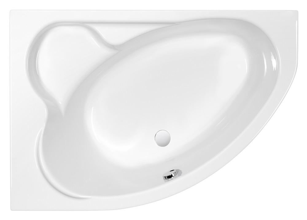 Ванна асимметричная Cersanit KALIOPE 153x100 левая (63441)(без монтажного комплекта)