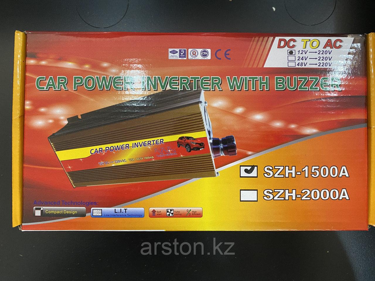 Преобразователь напряжения (12-220v) 1500 W