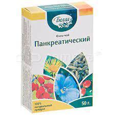 Панкреатический 50 гр фито чай Белла
