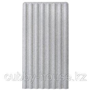 EILIF ЭЙЛИФ Экран передвижной, серый/белый, 80x150 см, фото 2