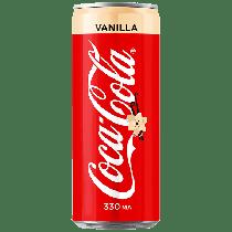 Coca-Cola Vanilla 330ml Россия (12шт-упак)