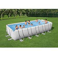Каркасный бассейн прямоугольный 640х274х132 см Bestway 5612B
