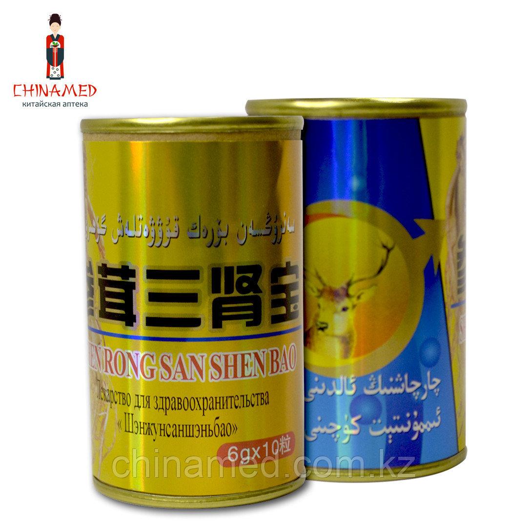 Китайские шарики для потенции Золотой олень