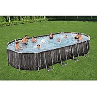 Каркасный бассейн овальный 732х366х122 см Bestway 5611T