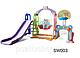 Детский игровой комплекс SW003 синий, розовый, фото 2