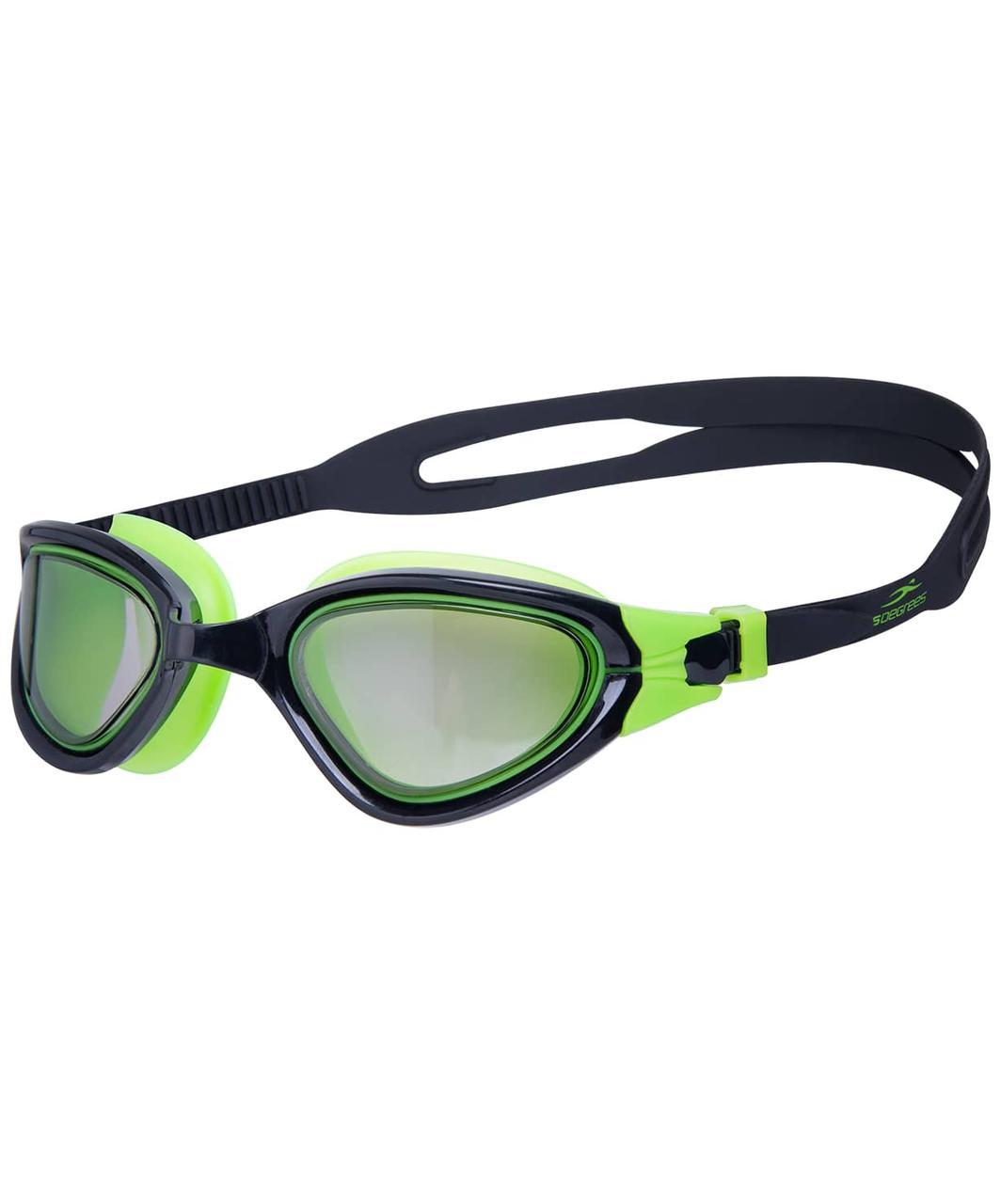 Очки для плавания Azimut Lime/Black 25Degrees