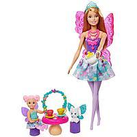 Barbie Dreamtopia Барби Заботливая Принцесса - Чаепитие GJK50