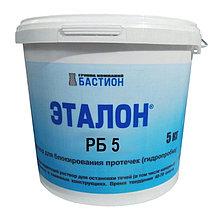 ЭТАЛОН РБ5 — Раствор быстротвердеющий (водоостанавливающий), ведро, 6 кг