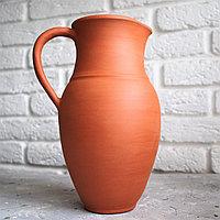 Терракотовый кувшин-ваза