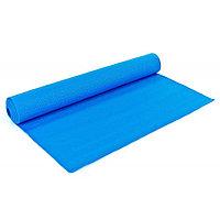 Коврик для йоги синий / размер 173x61 см / толщина 6 мм / c чехлом / Yoga mat