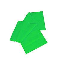 Эластичная лента / для фитнеса, йоги и пилатеса / размер 2 м / цвет зеленый
