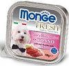 Monge Fresh 100г с Тунцом паштет для собак Pate with Chunkies Tuna