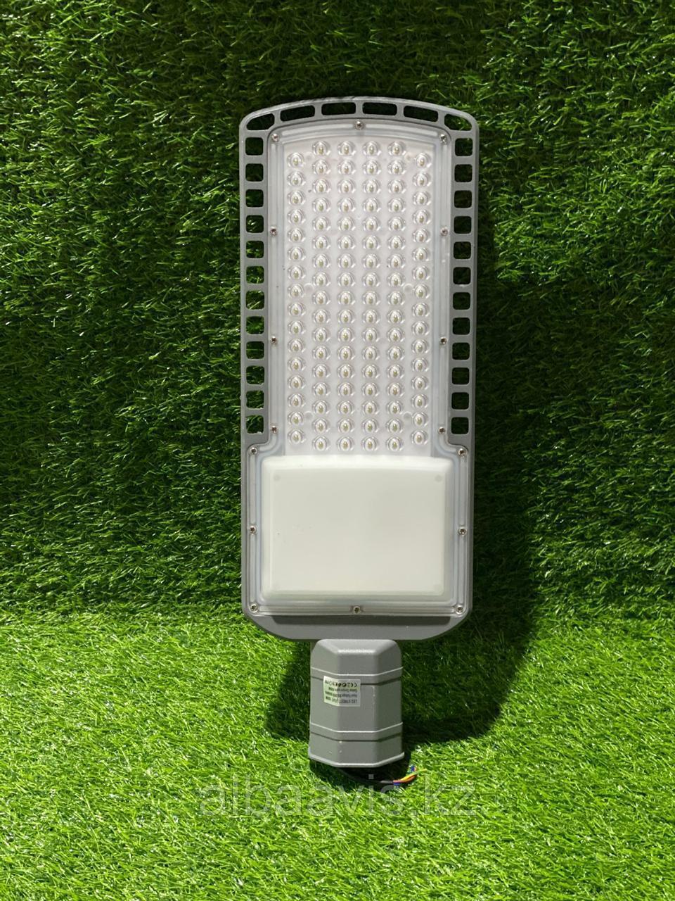 Консольный уличный светодиодный светильник СКУ 200 w Серый или черный корпус. Уличный фонарь LED Кобра