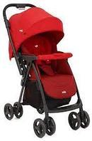 Детская коляска Joie Mirus синий, красный