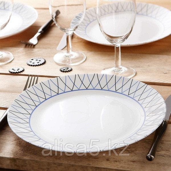ADRIEL Arcopal столовый сервиз на 6 персон из 12 предметов, шт