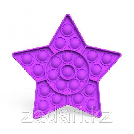 Антистрессовая игрушка «Pop it» звезда однотонная