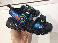 Детские сандалии Космос от Fudron с массажной стелькой
