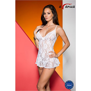 """Ночнушка """"DAIVA CHEMISE white"""" - Avanua, размер S"""