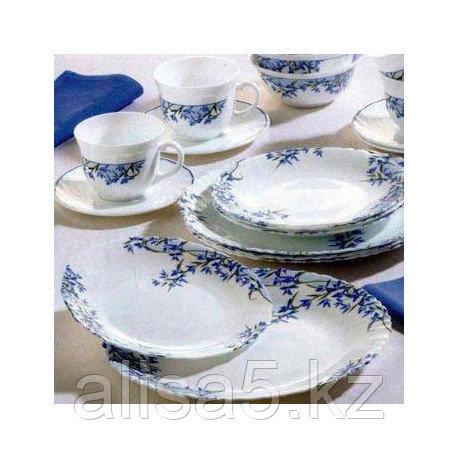ARCOPAL ALIYA BLUE столовый сервиз на 6 персон из 38 предметов, шт