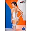 "Комплект ""EFFI CORSET white"" - Avanua, размер L, фото 2"