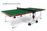 Стол теннисный Start line Compact EXPERT indoor GREEN