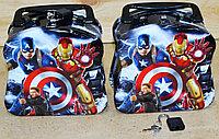 Копилка-чемодан с замком Мстители