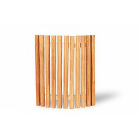 Абажур из термососны Pino Premio, длина 40 см, плоский