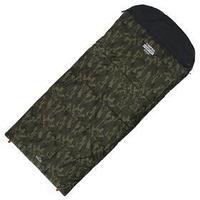 Спальник 4- слойный, L одеялоподголовник 225 x 100 см, camping comfort cold, таффета/оксфорд, -15C