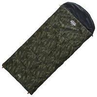 Спальник 4-слойный, R одеялоподголовник 225 x 100 см, camping comfort cold, таффета/оксфорд, -15C