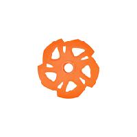 Набор колец для трекинговых палок оранжевый Naturehike NH19D002-Z