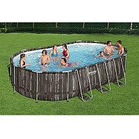 Каркасный бассейн овальный 610х366х122 см Bestway 5611R