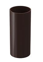 Труба водосточная 3000 мм DOCKE LUX (Дёке) Коричневый  Ø100